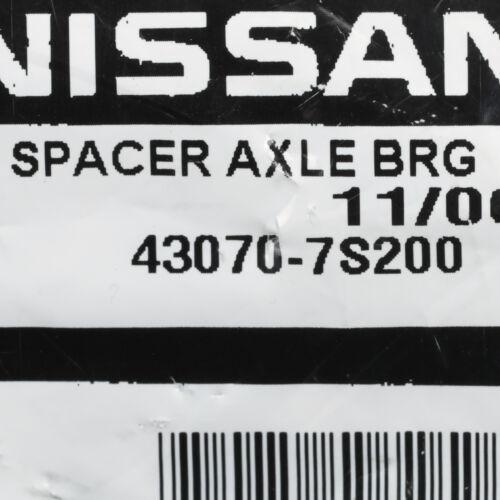 OEM NEW 2004-2015 Nissan Frontier Titan Xterra Rear Axle Bearing Seal Spacer
