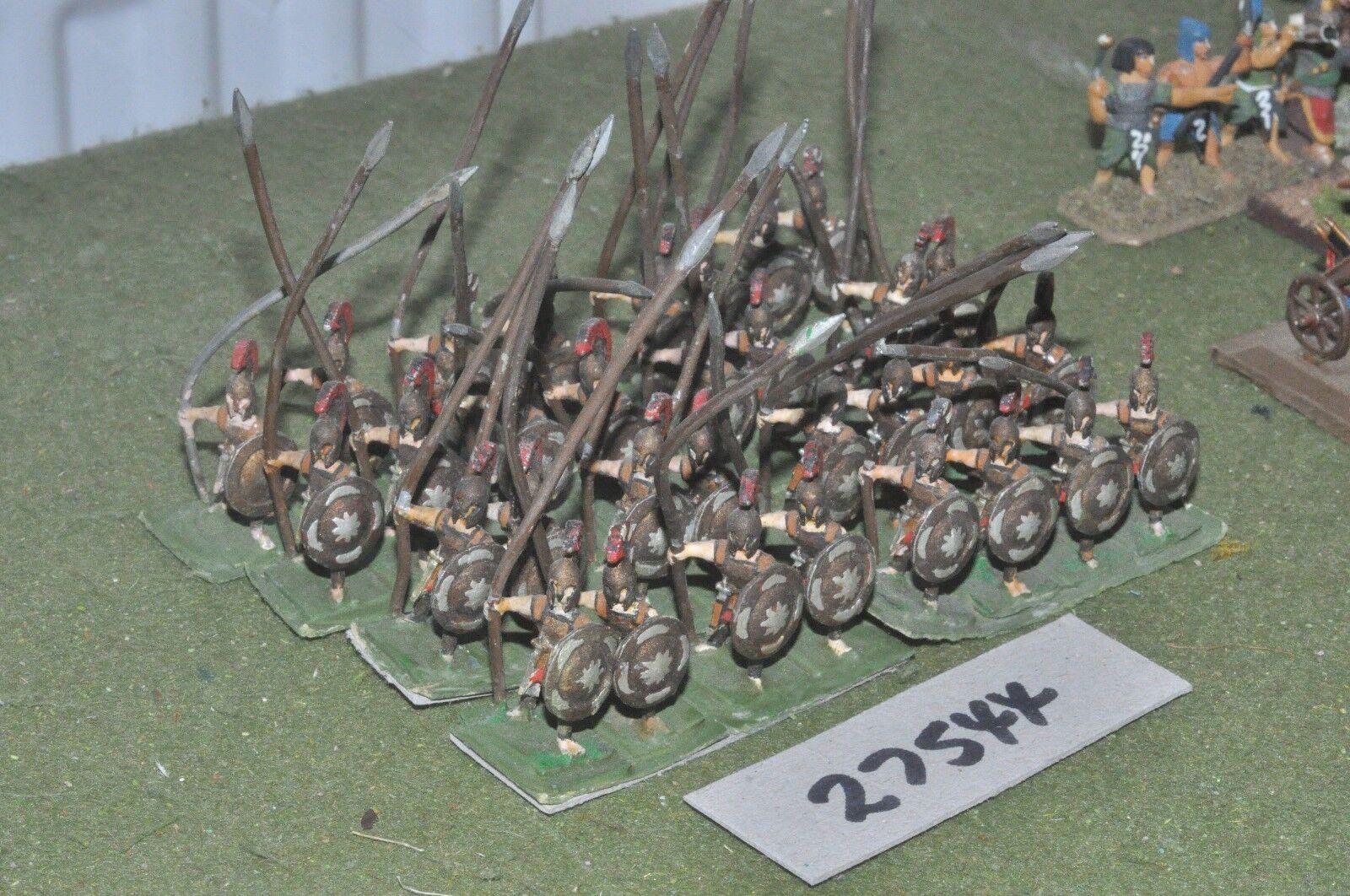 25mm classical   greek - hoplites 32 figures - inf (27544)