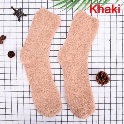Men Women Extremely Cozy Cashmere Socks Winter Warm Sleep Bed Floor Home YH