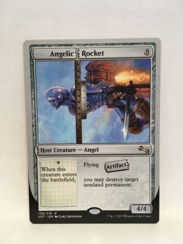 Angelic Rocket MTG Magic the Gathering Unstable Single Card NM-MT