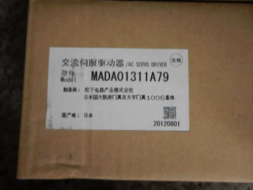3PH 50 V 1.7 A 100 W NEUF PANASONIC MADA 01311A79 AC Servo Drive 200-230 V en