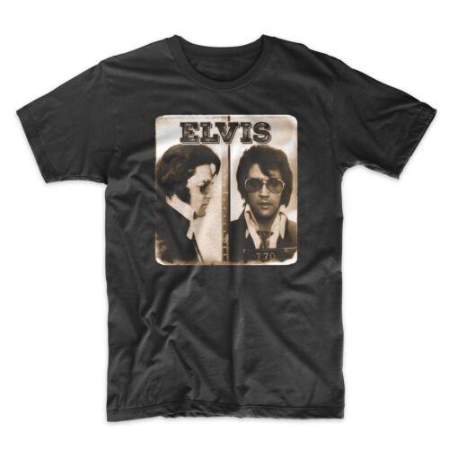Elvis T-Shirt On Black or White Premium Soft Cotton Tee Elvis Presley Comfy!