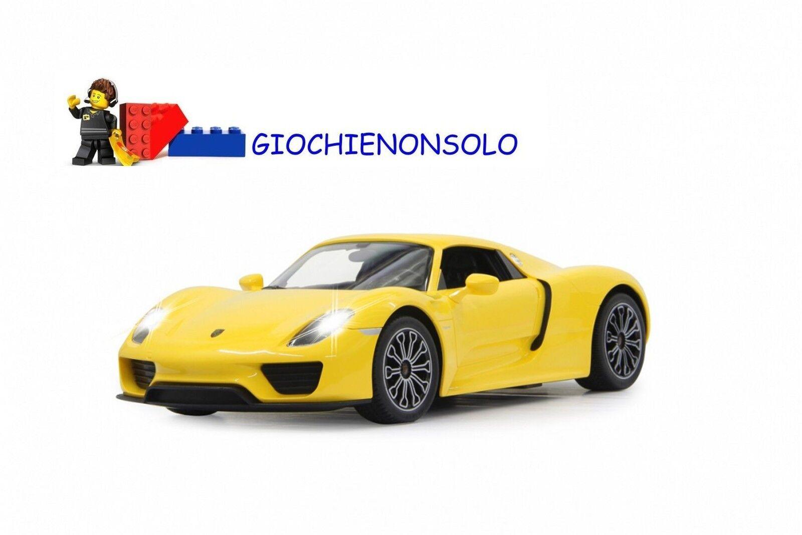 JAMARA 404579 - Porsche 918 Spyder 1 14 giallo 40 MHz