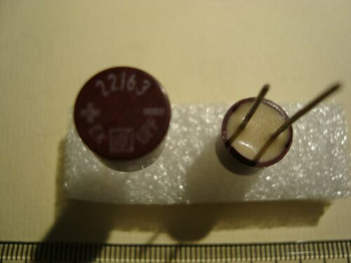 ROE RM5 22uF NOS Kondensatoren 2 pcs. Roederstein EK 63V Audio Elkos