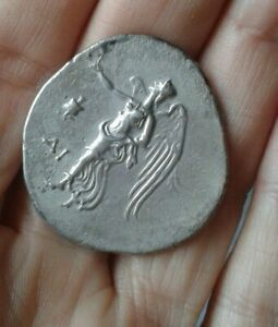 TETRADRACHME-SIDE-PAMPHYLIE-ANCIENT-GREEK-SILVER-COIN-MONNAIE-ARGENT