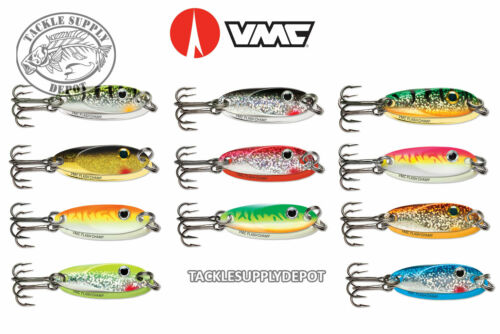 VMC Flash Champ Spoon Ice Fishing 1//32 oz Perch Crappie Panfish Pick New Colors