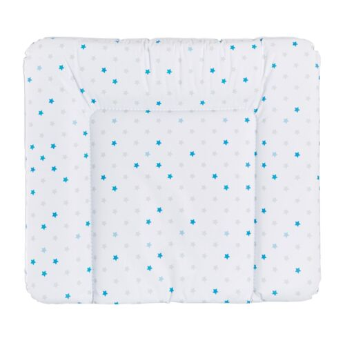 Träumeland Wickelauflage  75 x 85 cm Sterne blau