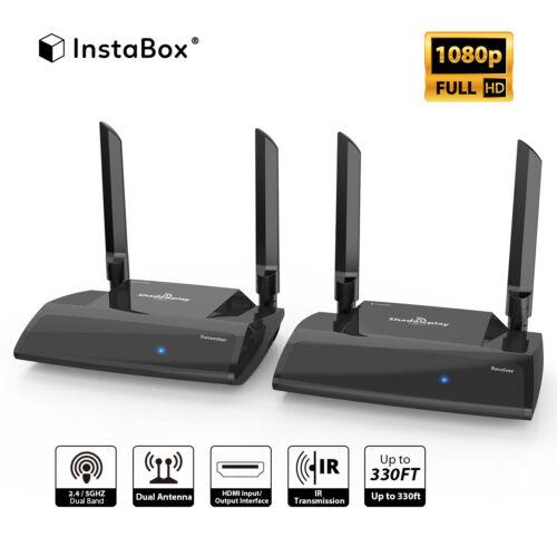 InstaBox PAT-590 HD HDMI AV Sender TV Wireless Audio Video Transmitter Receiver