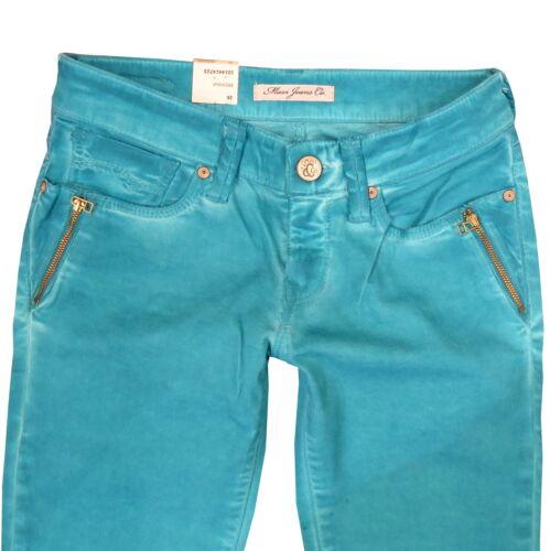 Mavi Breanna Low Rise Bottillons Jeans Pantalon Oil Emeraude Bleu 1014414723