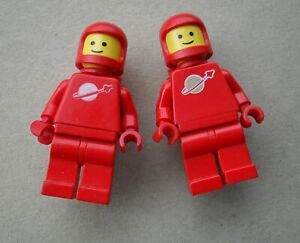 LEGO :  2 cosmonautes rouges