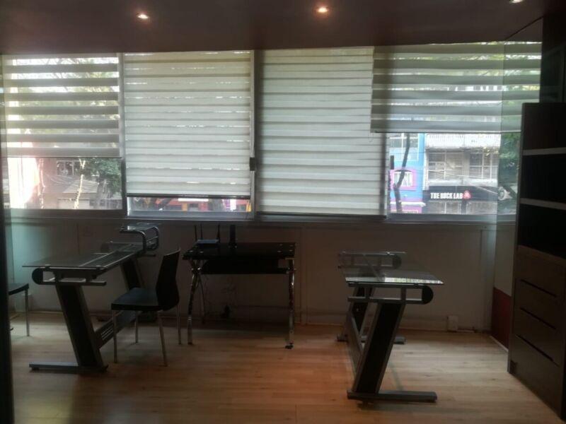 Rento oficina amueblada  Col. Condesa