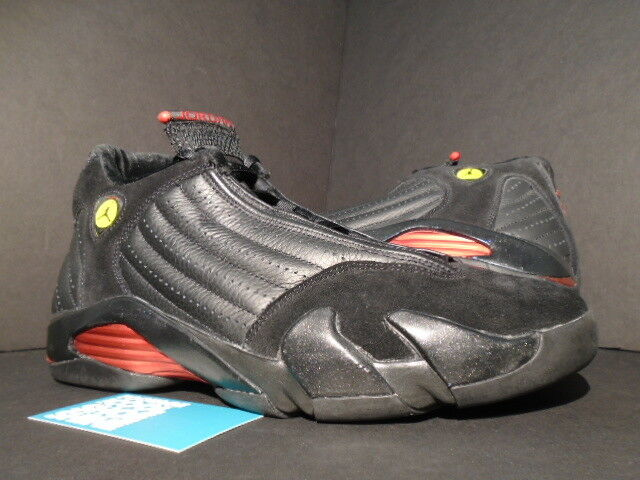2005 Nike Air Jordan XIV 14 Retro LAST SHOT PLAYOFF BRED BLACK RED 311832-002 11