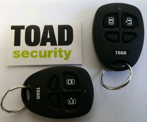 Genuino Nuevo Control Remoto De Alarma Toad AI606 controlador FOB sobre 2 controladores