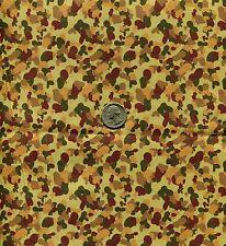 """1/6 Scale Australian DPCU Afghanistan Camouflage Model Miniature Fabric 21""""x18"""""""