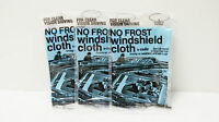 No Frost Windshield Cloth By Cadie For Clear Vision Driving Set Of 3
