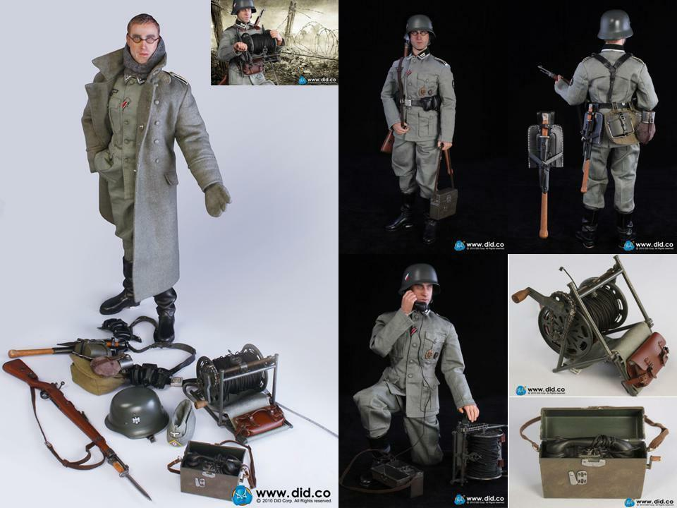 NO HOT TOYS 1 6 DID D80074 1942 Stalingrad German 6th Army - Josef