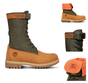 bc1ede654fe TIMBERLAND MEN S RARE LIMITED RELEASE MIXED-MEDIA GAITER BOOTS ...