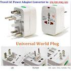 EU AU UK US To Universal World Adapter Socket Convertor Travel AC Power Plug