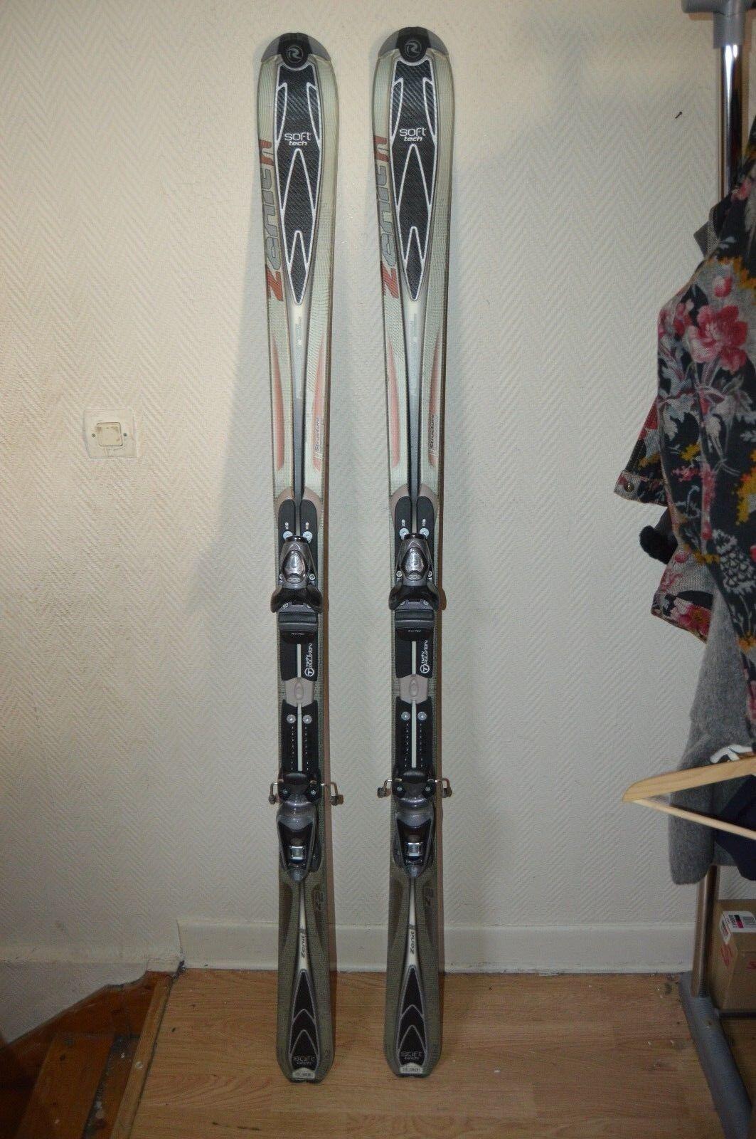 Ski Rossignol Z2 Zenith 2 162 cm + Skibindung Axium 200 + Cover Ski   Ski