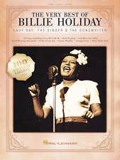 THE VERY BEST OF BILLIE HOLIDAY--PIANO/VOCAL/GUITAR MUSIC BOOK-BRAND NEW ON SALE