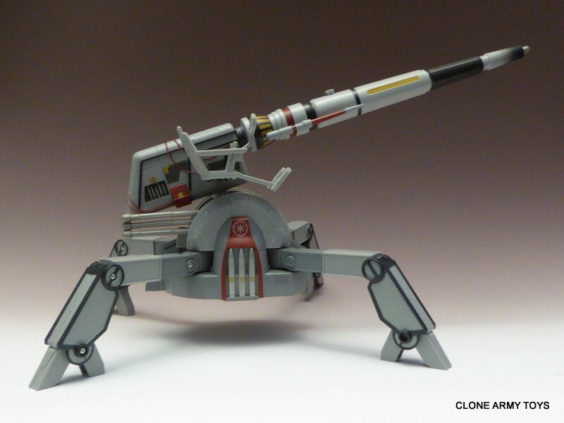 Neuf Star Wars Republic AV-7 Mobile Cannon Clone Collection AOTC TCW CW loose