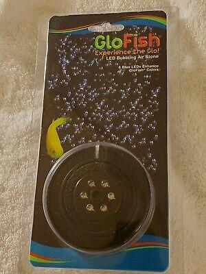 GloFish Blue LED Bubbling Air Stone, Lights, Improve ...