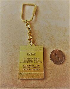 1992 Sofia Olympics bid City keycain-  mostra il titolo originale - Italia - 1992 Sofia Olympics bid City keycain-  mostra il titolo originale - Italia
