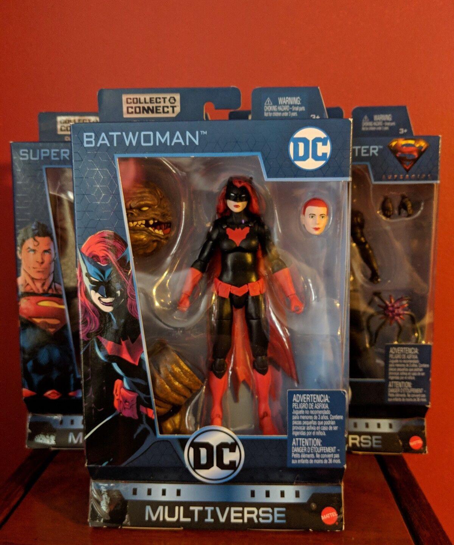 Dc multiversum batwoman superman mars menschenjagd, welle 8 baf clayface setzen
