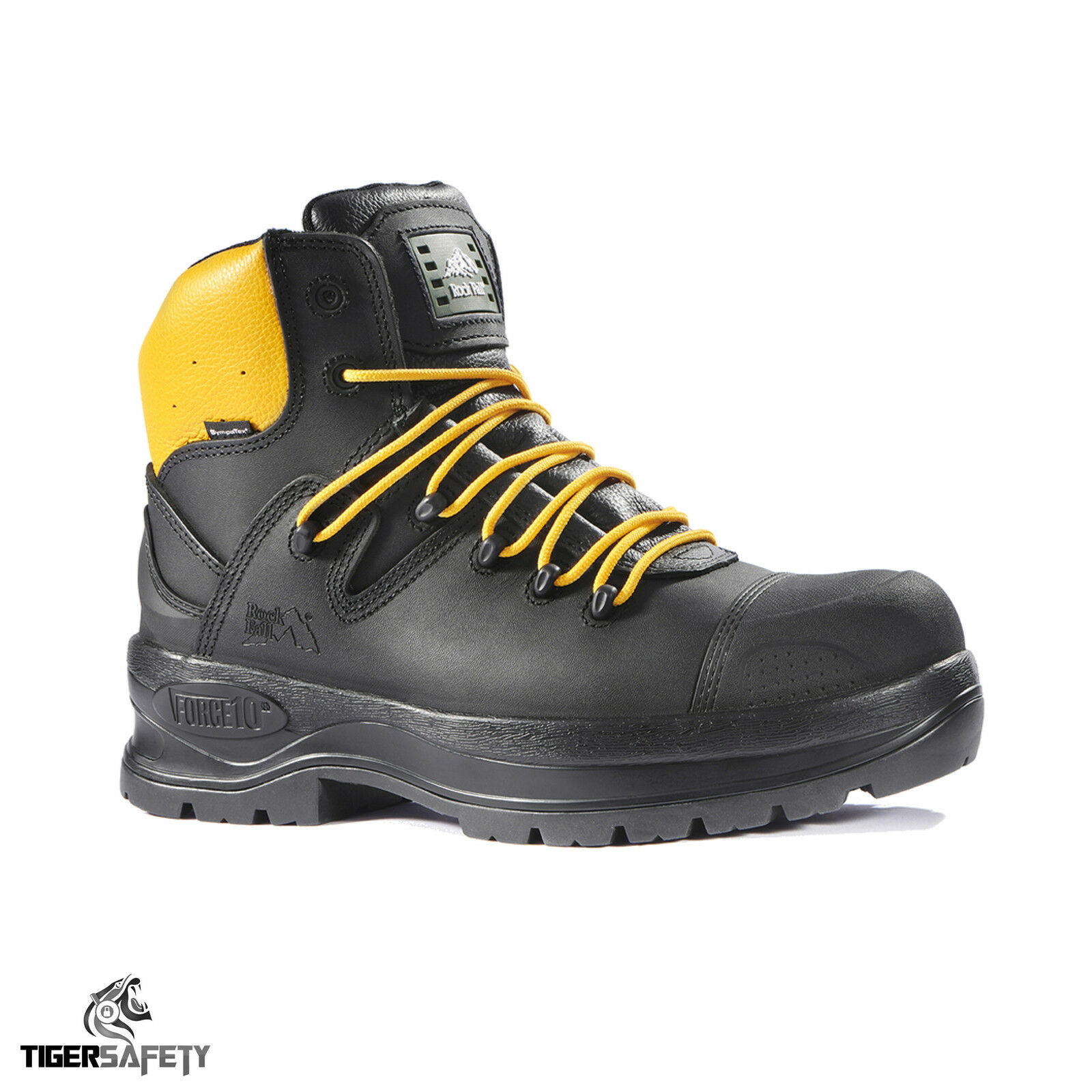 Rock Fall Power RF900 Nero 100% non metallici Electrical PPE Hazard Stivali di Sicurezza PPE Electrical 56199c