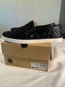 40eafffbe75 Details about UGG SOLEDA QUILTED SNEAKER 1095533 BLACK 100% AUTHENTIC NEW  SZ 10 NEW WOMAN'S**