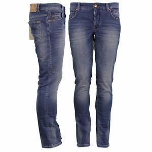 Denim N711jog01 Slim jeans Fit Blau per non eccitato Indigo Tubo 8wzqI