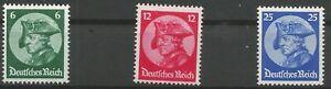 German-Reich-Minr-479-481-Clean-Mint