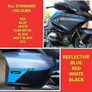 Details about FAIRING AND PANNIER STRIPE KIT FOR BMW R1200RT WATER COOLED  STICKERS GRAPHICS