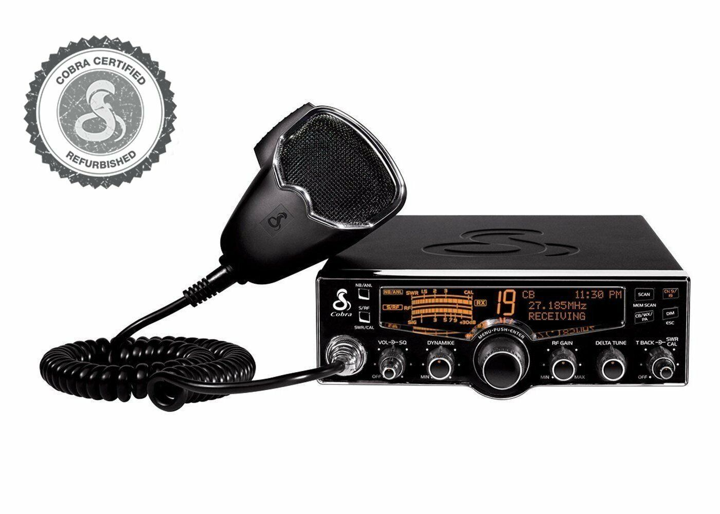 Cobra Model 29 LX Certified Refurbished Full Featured Professional CB Radio. Available Now for 99.99