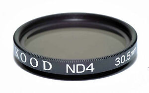 Kood High Quality ND4 2 stop Neutral density filter Made in Japan 30.5mm