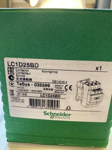 LC1D25BD24vDC  SCHNEIDER  CONTACTIR
