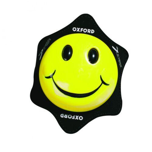 Oxford Motorcycle Knee Sliders Smiler Yellow OF265