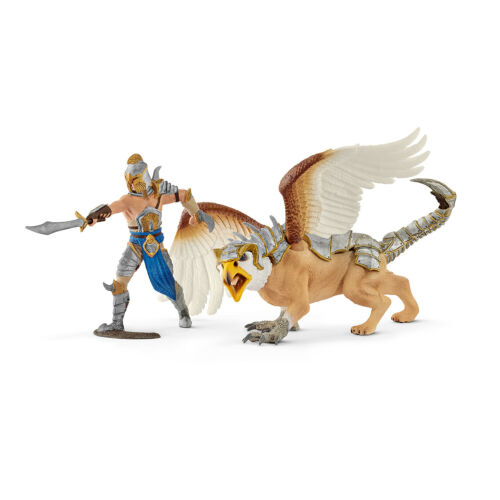 """70129 /""""combattenti con tra/"""" #schleich #drachen #dragon NUOVO IN SCATOLA ORIGINALE-MINT IN BOX!!!"""