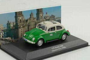 VW-Volkswagen-Beetle-1600-Mexico-City-1985-Taxi-1-43-ixo-altaya