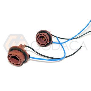 2 x connector socket 1156 ba15s plug light harness led. Black Bedroom Furniture Sets. Home Design Ideas