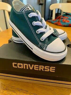 Converse CT AS HI Top Toddler Shoes US Size 2,5,6,8 9,10 Dark Atomic Teal Green