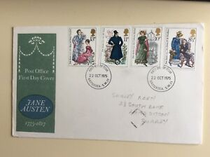 Post-Office-First-Day-Cover-Jane-Austin-1775-1817-1975