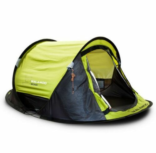 NEW OZTENT MALAMOO 2P POP UP TENT 2 PERSON POLYESTER WATERPROOF CAMPING HIKING