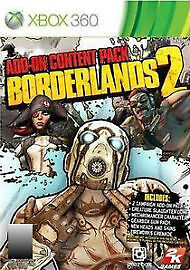 1 of 1 - Borderlands 2: Add-On Content Pack (Microsoft Xbox 360, 2013)
