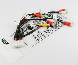 RCA-Cord-Assembly-Harness-Audio-Video-For-Pionee-Avic-Z110BT-F10BT-CDP1194