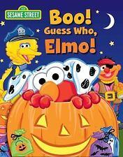 Guess Who! Book: Sesame Street Boo! Guess Who, Elmo! (2015, Board Book)