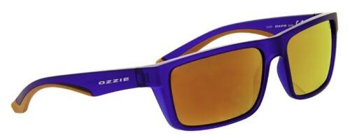 Ozzie Sonnenbrille Radbrille Blau Orange Sportbrille FahrradbrilleUnisex