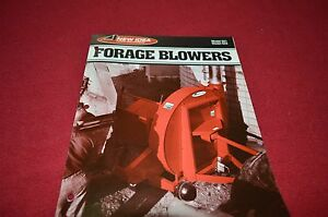 New Idea 621 622 Forage Blowers Dealers Brochure DCPA