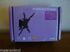 LOGIK LTSS14 BLACK TV Mount for most LCD TV Up to Vesa 200 x 200 FREE UK POST