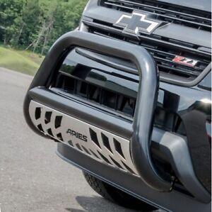 Aries 35-5000 Stainless 3 Inch Bull Bar for Dodge Ram 1500 Ram 2500 Ram 3500